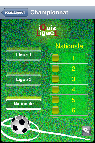 Screenshot iQuizLigue1