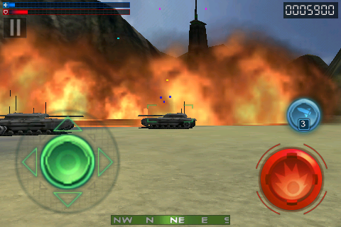 Screenshot Tank Recon 3D