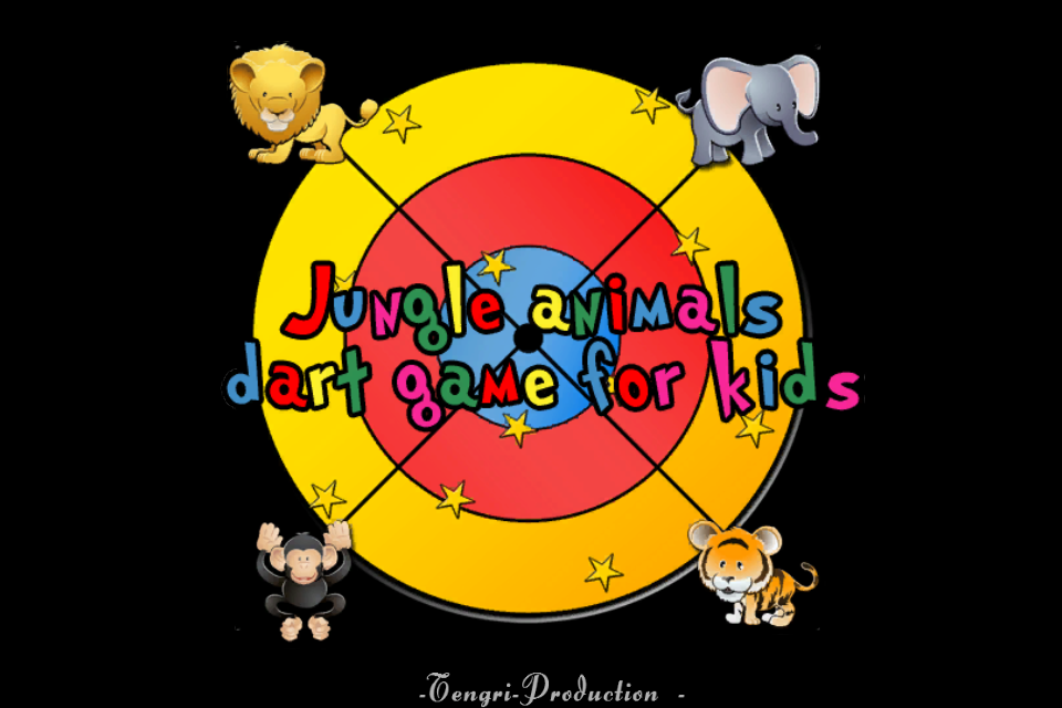 Screenshot Animals of the jungle and darts for children
